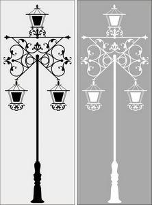 фонарь № 1695