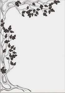 дерево с цветами № 4883