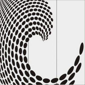 иллюзия кругов № 5466