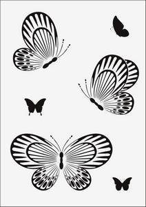 Бабочки № 12943