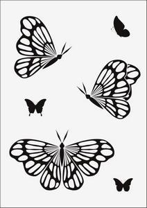 Бабочки № 12944