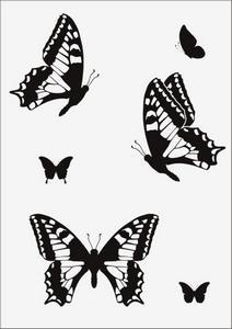 Бабочки № 12948