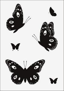Бабочки № 12951