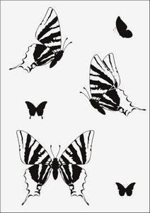 Бабочки № 12952