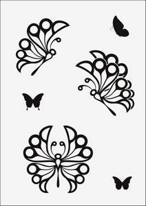 Бабочки № 12954