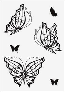 Бабочки № 12957