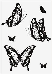 Бабочки № 12961