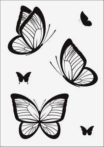 Бабочки № 12967