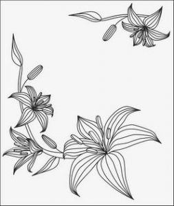 Лилии № 14175